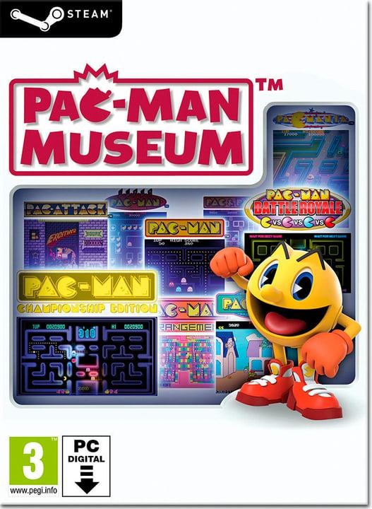 PC - Pac-Man Museum - D/F/I Download (ESD) 785300134434 N. figura 1