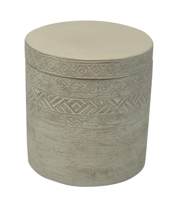 SELIMA Wattenbox 442078400680 Farbe Grau Grösse B: 10.4 cm x T: 10.4 cm x H: 11.0 cm Bild Nr. 1