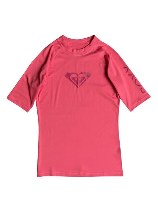 Whole Hearted - Kurzarm UPF 50  Rash Vest für Frauen T-shirt de surf pour femme Roxy 463119900317 Couleur framboise Taille S Photo no. 1