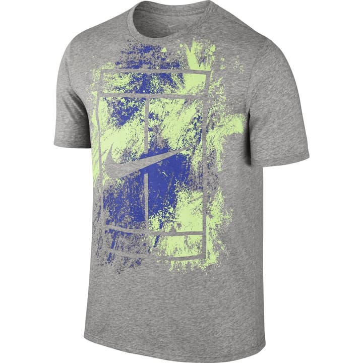 Dry Tee Shirt pour homme Nike 473220300380 Couleur gris Taille S Photo no. 1