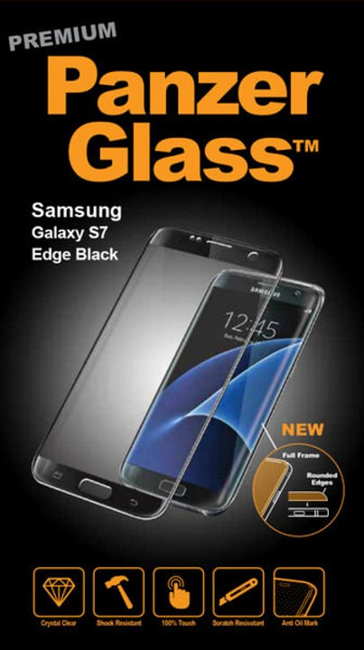 Premium Galaxy S7 Edge - noir Protection d'écran Panzerglass 785300134489 Photo no. 1
