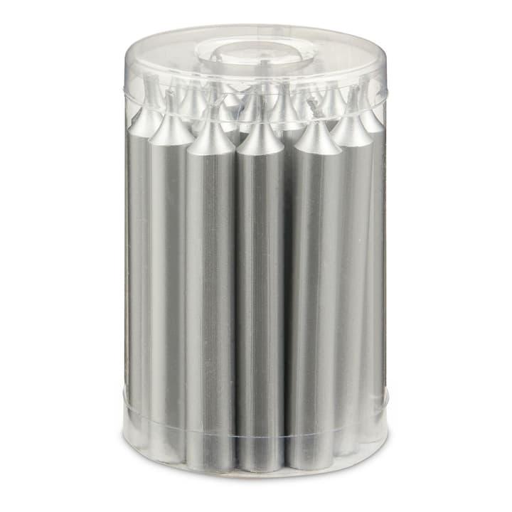 BAUMKERZEN Kerzen 20 Stk. 390172700000 Grösse B: 1.2 cm x T: 1.2 cm x H: 10.2 cm Farbe Silberfarben Bild Nr. 1