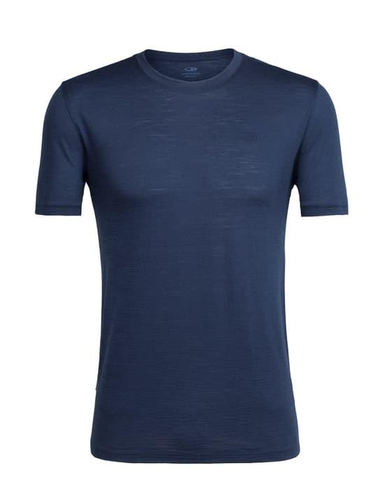 Spector Crewe T-shirt à manches courtes pour homme Icebreaker 477064200343 Couleur bleu marine Taille S Photo no. 1