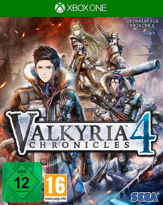 Xbox One - Valkyria Chronicles 4 - Limited Edition (D) Box 785300137508 Photo no. 1