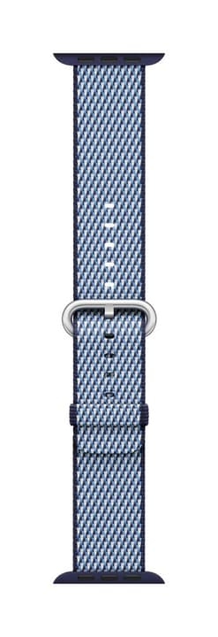 38mm Midnight Blue Check Woven Nylon Bracelet Apple 785300130644 Photo no. 1