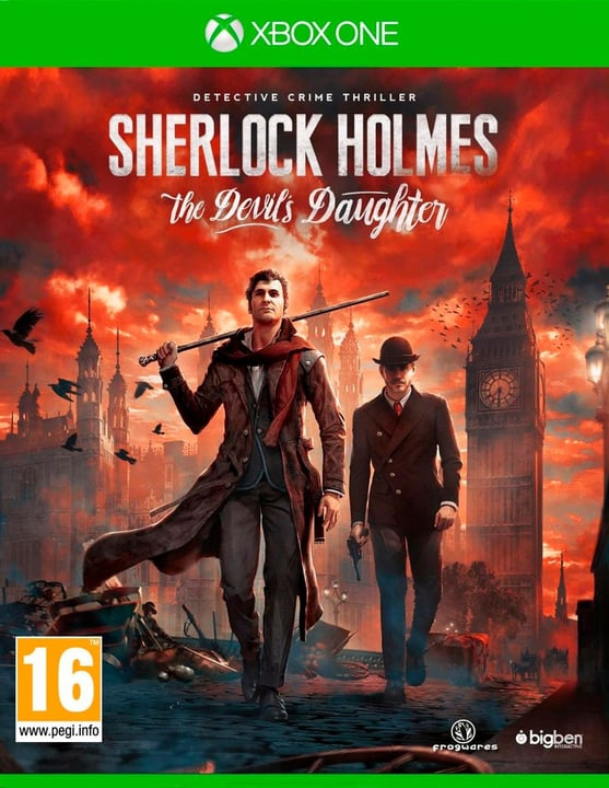 Xbox One - Sherlock Holmes The Devils Daugter 785300120871