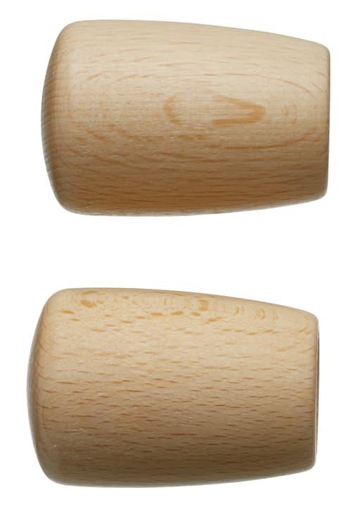 FSC® HOLZ KONICO Embout 430563800014 Couleur Marron clair Dimensions L: 50.0 mm x P: 26.0 mm Photo no. 1