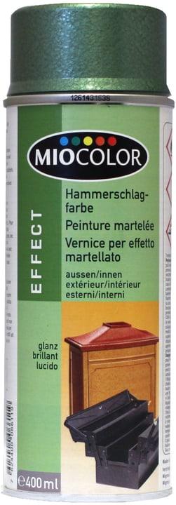 Peinture martelée Spray Miocolor 660840200000 Couleur Vert Contenu 400.0 ml Photo no. 1