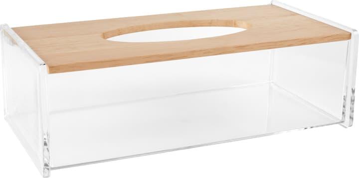 ZAIRA Nastuchbox 442083900300 Farbe Transparent Grösse B: 26.2 cm x T: 13.6 cm x H: 8.6 cm Bild Nr. 1