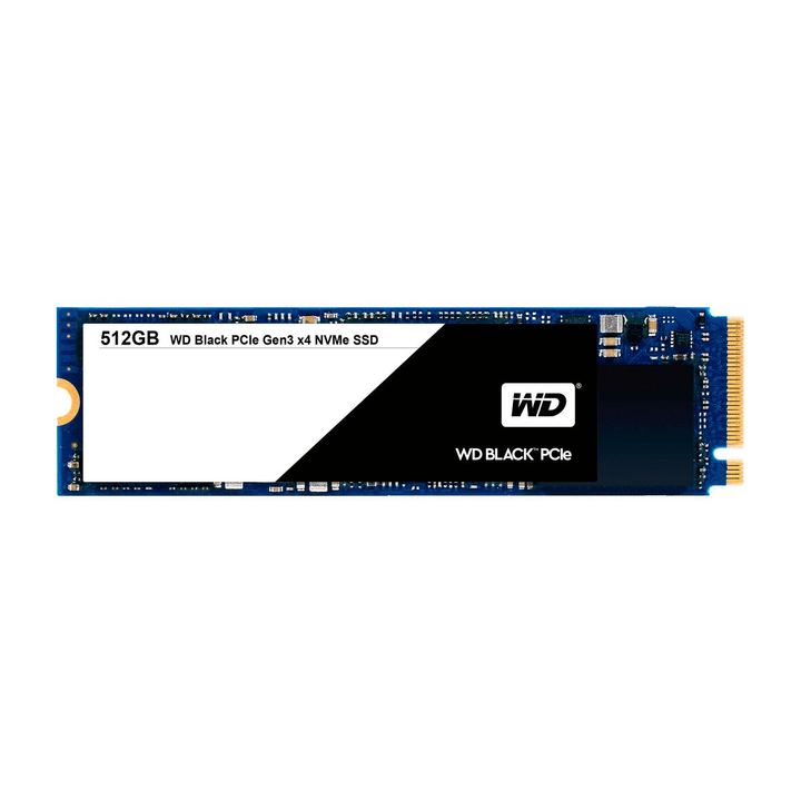 WD Black PCIe SSD interne 512GB M.2 2280 Western Digital 785300124430 Photo no. 1