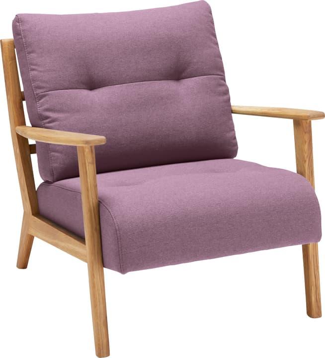 FAUST Sessel 402465200138 Farbe Rosa Grösse B: 76.0 cm x T: 80.0 cm x H: 78.0 cm Bild Nr. 1