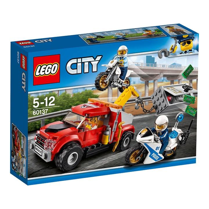 LEGO City Abschleppwagen auf Abwegen 60137 748833500000 Bild Nr. 1