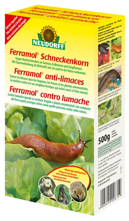 Ferramol anti-limaces, 500 g Neudorff 658416700000 Photo no. 1