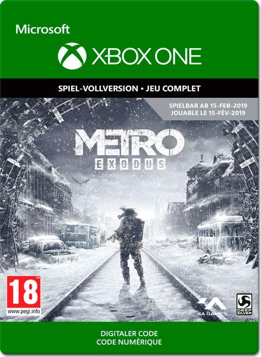 Xbox One - Metro Exodus Download (ESD) 785300141687 Bild Nr. 1