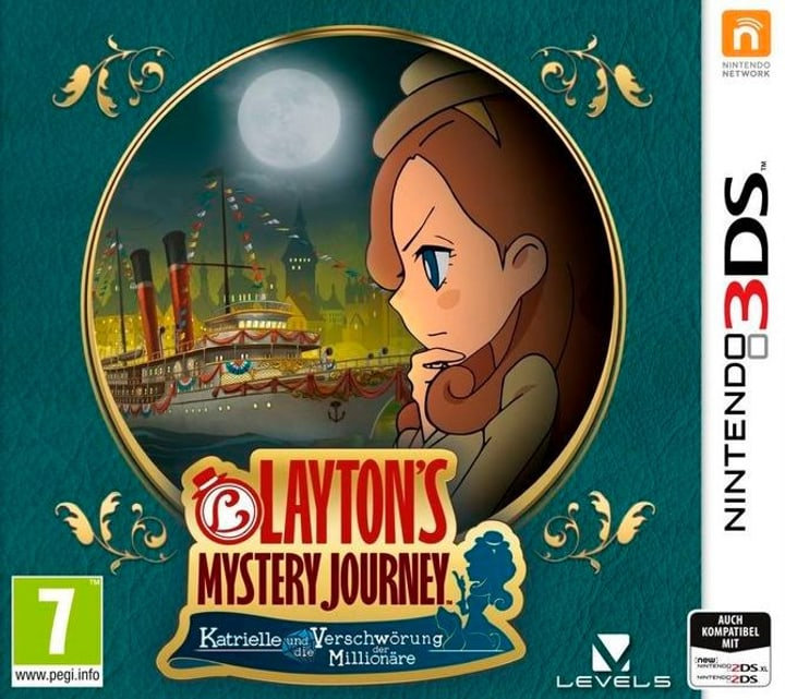 3DS - Layton's Mystery Journey: Katrielle & die Verschwörung der Millionäre 785300129653 Photo no. 1