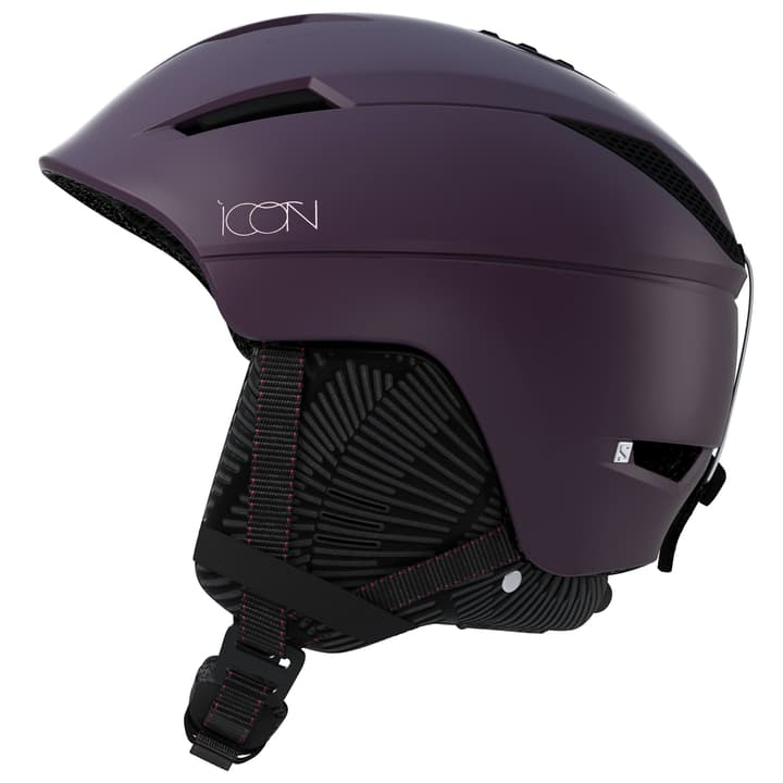 Icon CA Casque de sports d'hiver Salomon 494971755928 Couleur aubergine Taille 56-59 Photo no. 1