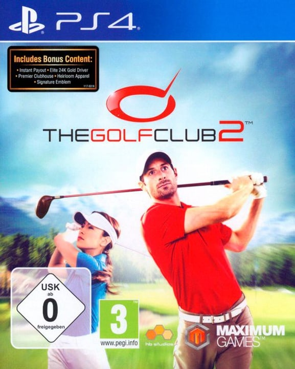 PS4 - The Golf Club 2 Physique (Box) 785300122205 Photo no. 1