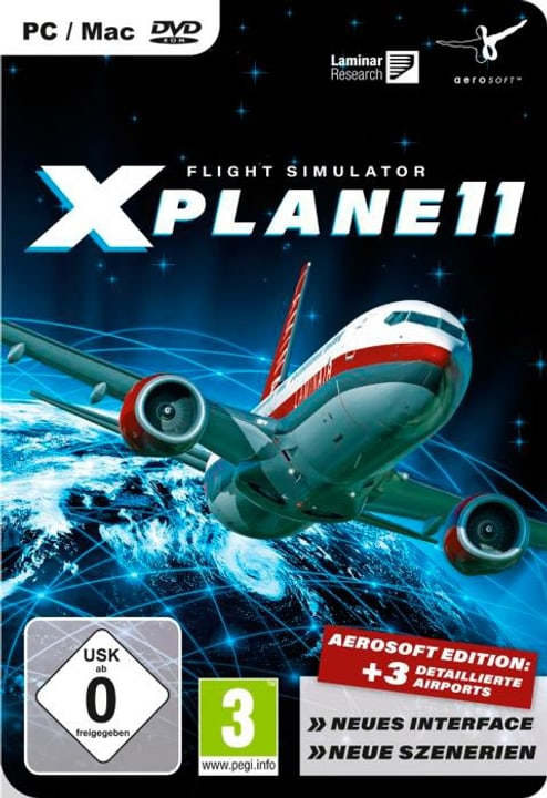 PC/Mac - Flight Simulator X-PLANE 11 Physique (Box) 785300121921 Photo no. 1