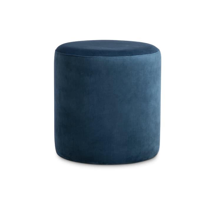 THEO Pouf 360464200000 Dimensions H: 43.0 cm Couleur Bleu Photo no. 1
