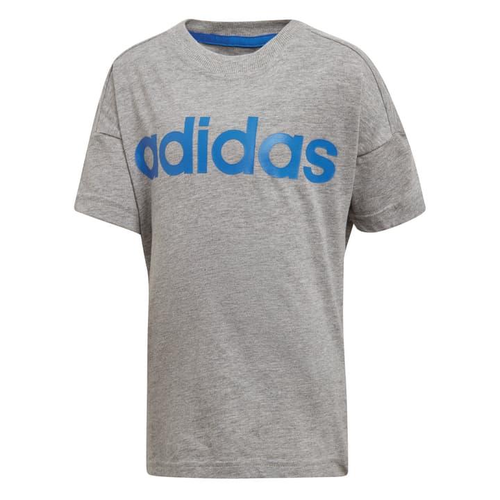 Linear Tee Shirt pour garçon Adidas 472340709881 Couleur gris claire Taille 98 Photo no. 1