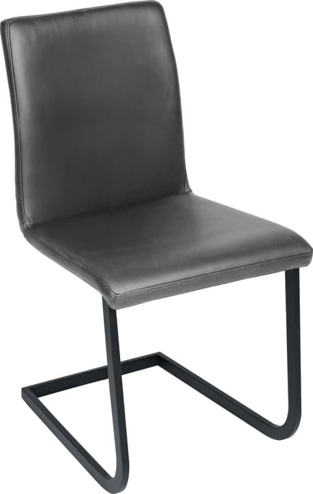SANTORO Chaise en porte-à-faux 402355700084 Dimensions L: 43.0 cm x P: 55.0 cm x H: 86.0 cm Couleur Anthracite Photo no. 1