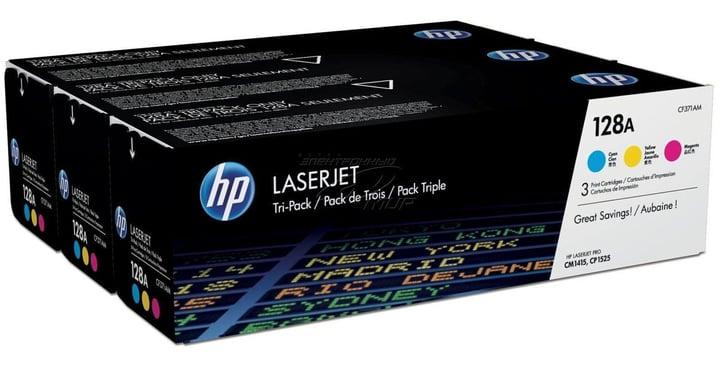 HP Toner Tri-Pack 128A CMY HP 798506700000 Bild Nr. 1