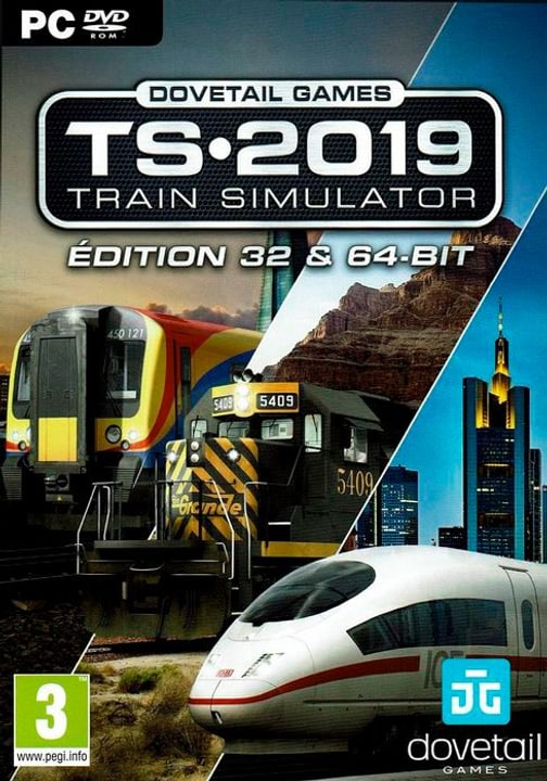 PC - Train Simulator TS 2019 F Box 785300141414 N. figura 1