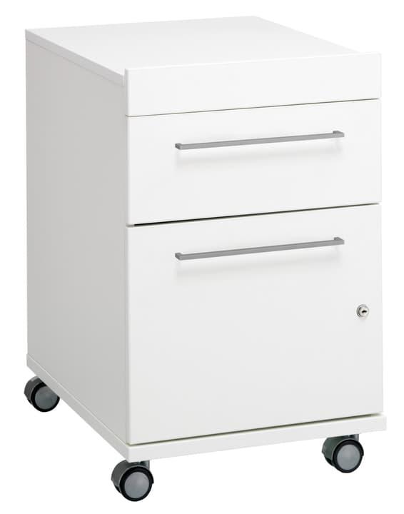 CONCEPT X Rollcontainer 401804500210 Grösse B: 41.5 cm x T: 55.0 cm x H: 64.0 cm Farbe Weiss Bild Nr. 1