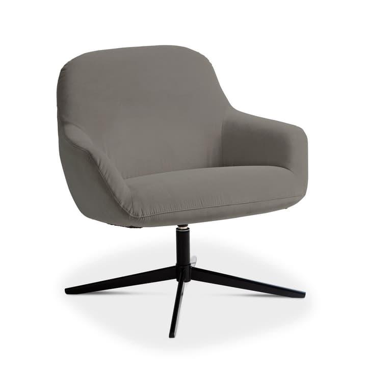 ROSE Sessel 360049949205 Grösse B: 72.0 cm x T: 77.0 cm x H: 78.0 cm Farbe Grau Bild Nr. 1