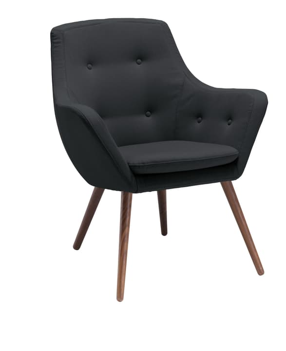 FLORIN Fauteuil 402441107084 Dimensions L: 73.0 cm x P: 70.0 cm x H: 82.0 cm Couleur Anthracite Photo no. 1