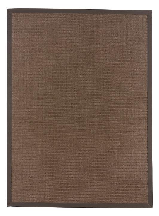 TIM Tapis 411966610070 Couleur brun Dimensions L: 100.0 cm x P: 160.0 cm Photo no. 1