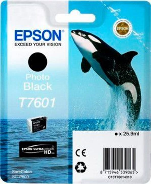T7601 Tintenpatrone Photo Black Epson 798534600000 Photo no. 1