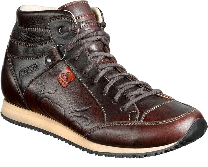 Cuneo Mid Identity Chaussures de randonnée pour femme Meindl 462603141073 Couleur brun foncé Taille 41 Photo no. 1