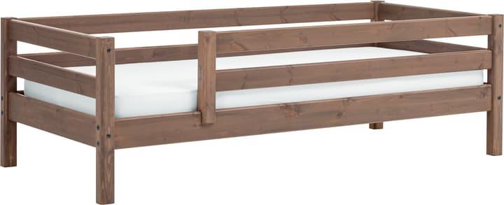 CLASSIC Lit simple Flexa 404930800000 Dimensions L: 100.0 cm x P: 210.0 cm x H: 67.0 cm Couleur Terre Photo no. 1