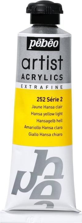 Pébéo Acrylic Extrafine Pebeo 663509025200 Couleur Jaune Hansa Clair Photo no. 1