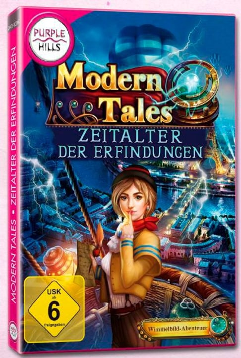 PC - Purple Hills: Modern Tales - Zeitalter der Erfindungen (D) Box 785300133089 Photo no. 1