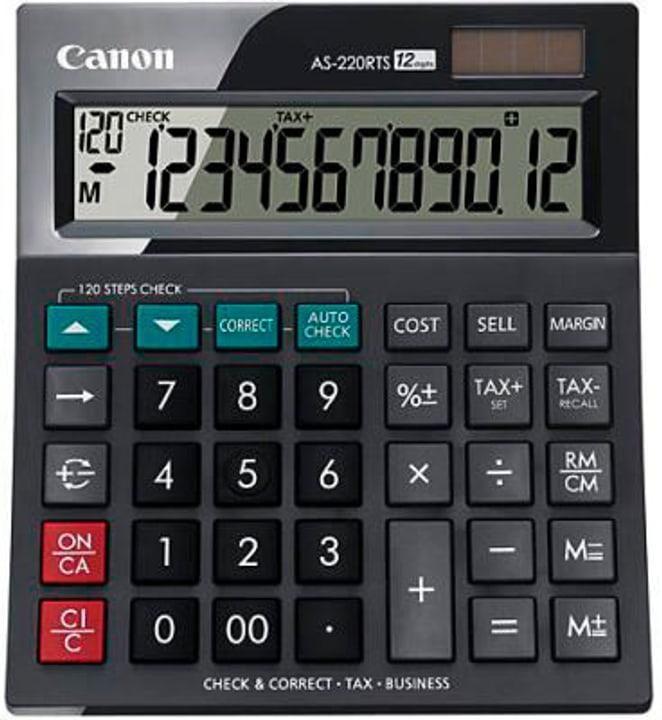 Tischrechner CA-AS220R 12-stellig Tischrechner Canon 785300151137 Bild Nr. 1