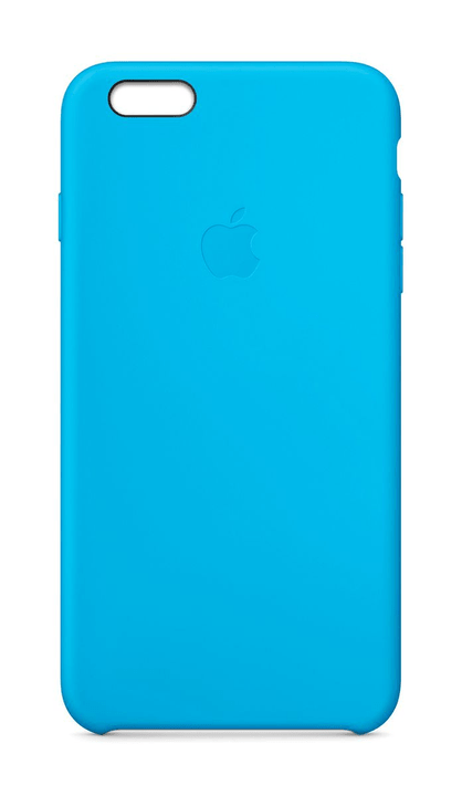 Silicon Case iPhone 6 Plus Blue Coque Apple 797836600000 Photo no. 1