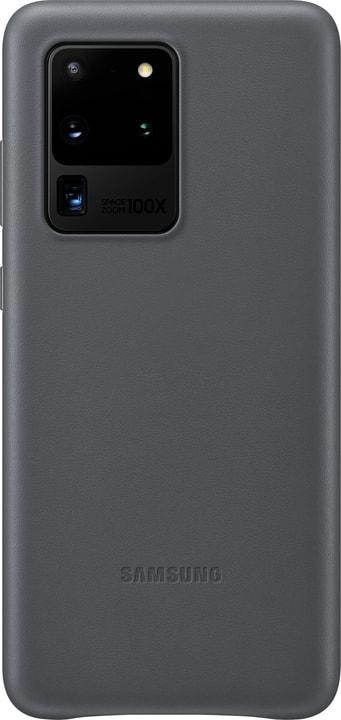 Leather Cover grey Coque Samsung 785300151203 Photo no. 1