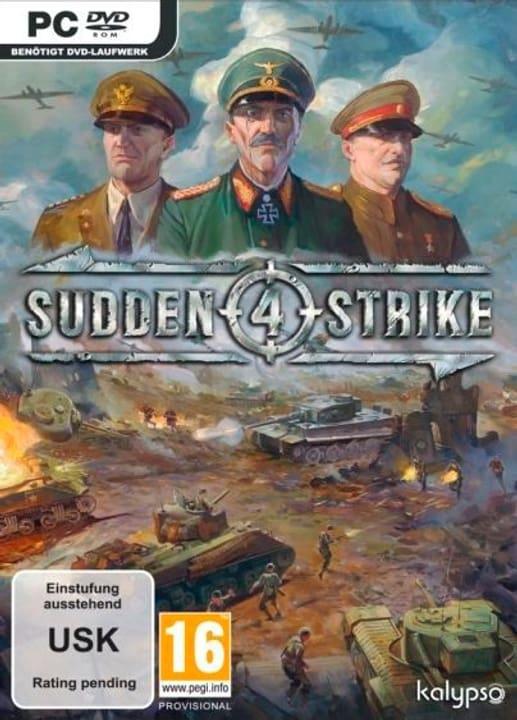 PC - Sudden Strike 4 Box 785300122072 Bild Nr. 1