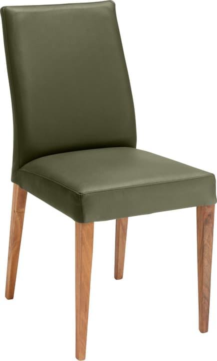 SERRA Chaise 402355600065 Dimensions L: 46.0 cm x P: 57.0 cm x H: 92.0 cm Couleur Olive Photo no. 1