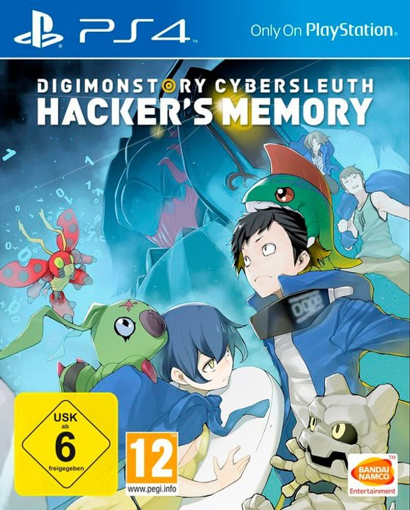 PS4 - Digimon Story: Cyber Sleuth - Hacker's Memory - D/F/I Physique (Box) 785300131471 Photo no. 1