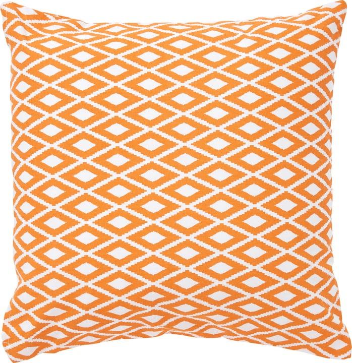 LENA Zierkissen 450739540830 Farbe Orange Grösse B: 45.0 cm x H: 45.0 cm Bild Nr. 1
