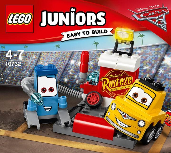 LEGO Juniors L'arrêt au stand de Guido et Luigi 10732 748846100000 Photo no. 1