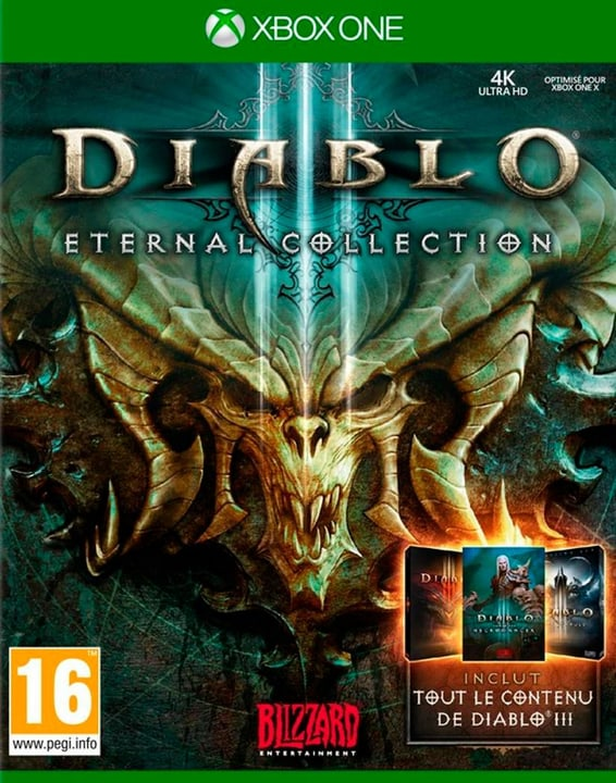 Xbox One - Diablo III - Eternal Collection (F) Box 785300135887 Sprache Französisch Plattform Microsoft Xbox One Bild Nr. 1