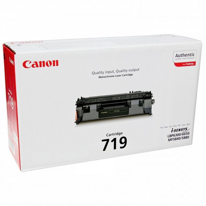 Toner 719 noir 3479B002 Canon 797532400000 Photo no. 1