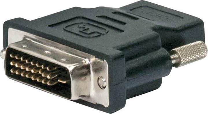 Adattatore HDMI/DVI nero Schwaiger 613182300000 N. figura 1