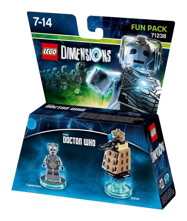 "LEGO Dimensions Fun Pack ""Doctor Who"" 785300120648 N. figura 1"