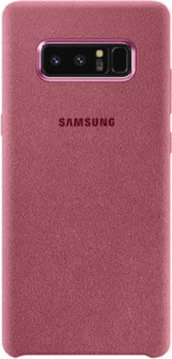 Alcantara Cover Note 8 pink Hülle Samsung 785300130372 Bild Nr. 1