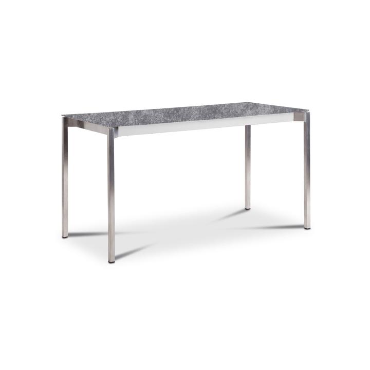 LUZON Table 368029200000 Dimensions L: 140.0 cm x P: 80.0 cm x H: 75.0 cm Couleur Gris Photo no. 1